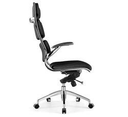 כיסא מנהלים ריפוד PU דגם פרארי גבוה