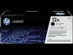 טונר שחור מקורי HP 12A Q2612A