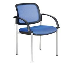 כסא אורח גב רשת עם ידיות דגם רקפת מורן