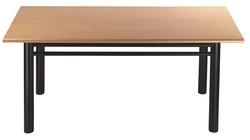 שולחן עבודה מלבני דגם הוגו 8002