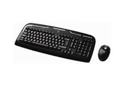 סט מקלדת ועכבר אלחוטיים Logitech EX 110