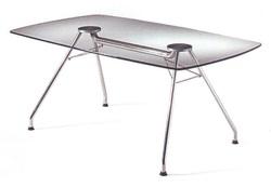 שולחן ישיבות זכוכית דגם 513
