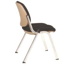 כסא אורח ריפוד בד ללא ידיות דגם ברונו