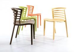 כסא מסעדה פלסטיק דגם גאלה