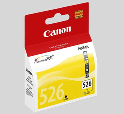 ראש דיו צהוב מקורי Canon CLI-526 Y