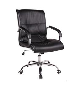 כיסא מנהלים נמוך ריפוד PU דגם קים