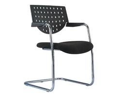 כסא אורח גב פלסטיק עם ידיות דגם מיאמי ברוייר