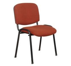 כסא אורח ריפוד בד ללא ידיות דגם ויזי