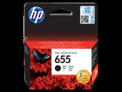 ראש דיו שחור מקורי HP 655 - CZ109AE