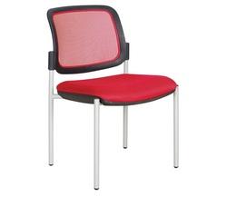 כסא אורח גב רשת ללא ידיות דגם רקפת מורן