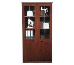 ארון מנהל 2 דלתות זכוכית דגם 183