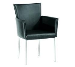כסא אורח ריפוד PU דגם סטפני