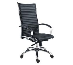 כיסא מנהלים ריפוד PU נמוך דגם קריזמה