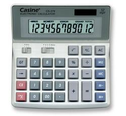 מחשבון שולחני סולארי Casine CS-379