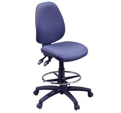 כסא שרטט ריפוד בד, דגם דין-B