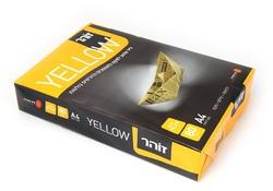 נייר צילום צהוב לפקס 80 גרם A4, זוהר Yellow