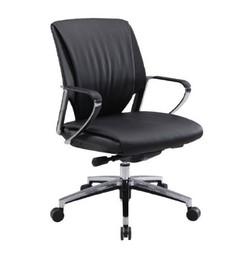 כיסא מנהלים נמוך ריפוד PU דגם מאליבו