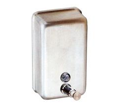 מתקן סבון אנכי מנירוסטה, 1.2 ליטר