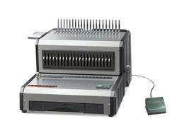 כורך חשמלי לספירל פלסטיק 21 חורים Qupa D-160