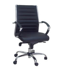 כיסא מנהלים ריפוד PU דגם שירן נמוך