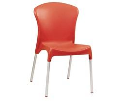 כסא מסעדה פלסטיק דגם סטלה