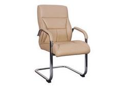 כסא אורח ריפוד PU דגם סקטור
