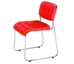 כסא אורח ללא ידיות דגם דן משובץ