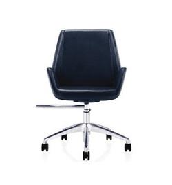 כיסא מנהלים נמוך ריפוד PU דגם ברקודה
