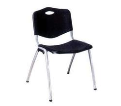 כסא אורח פלסטיק ללא ידיות דגם ויזי