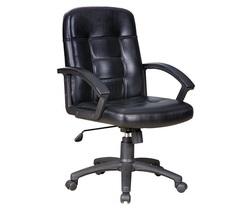 כיסא מנהלים נמוך ריפוד PU דגם ויקטוריה