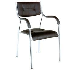 כסא אורח ריפוד PU דגם נעמה