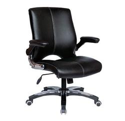 כיסא מנהלים נמוך ריפוד PU דגם יגואר