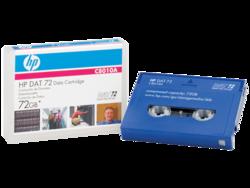 קלטת גיבוי נתונים HP DAT 72 C8010A 72GB