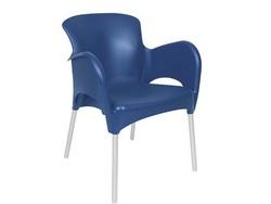 כסא מסעדה פלסטיק דגם סיאסטה