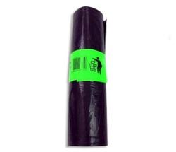 25 שקיות אשפתון שחור עבה 75X90 ס