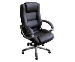 כיסא מנהלים גבוה ריפוד PU דגם אלפא