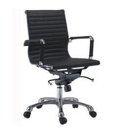 כיסא מנהלים ריפוד PU דגם גלרי נמוך