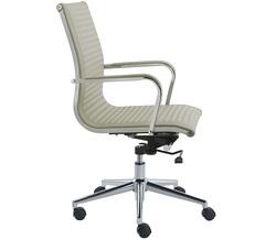כיסא מנהלים נמוך ריפוד PU דגם טורו