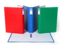תיקי טבעות עם ציפוי פלסטיק צבעוני