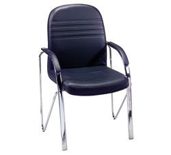כסא אורח ריפוד PU דגם גזית