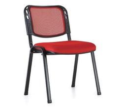 כסא אורח גב רשת ללא ידיות דגם ויזי