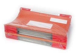 25 תיקי תלייה, מתלה פלסטיק כפול, ג'טפייל 002