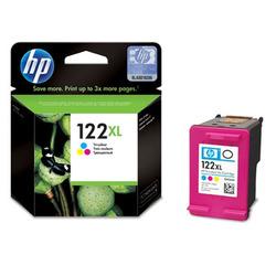 ראש דיו צבעוני מקורי HP 122XL - CH564HE