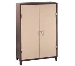 ארון משרדי נמוך ממתכת 2 דלתות דגם 704