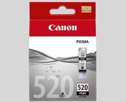 ראש דיו שחור מקורי Canon PGI-520 BK