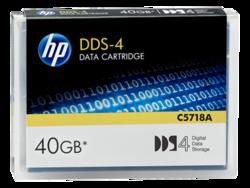 קלטת גיבוי נתונים HP DDS-4 C5718A 40GB