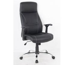 כיסא מנהלים גבוה ריפוד PU דגם אלמוג