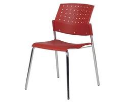 כסא אורח מפלסטיק ללא ידיות דגם גולף