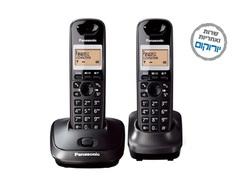 טלפון אלחוטי עם שלוחה Panasonic KX-TG6712