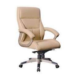 כיסא מנהלים נמוך ריפוד PU דגם סקטור
